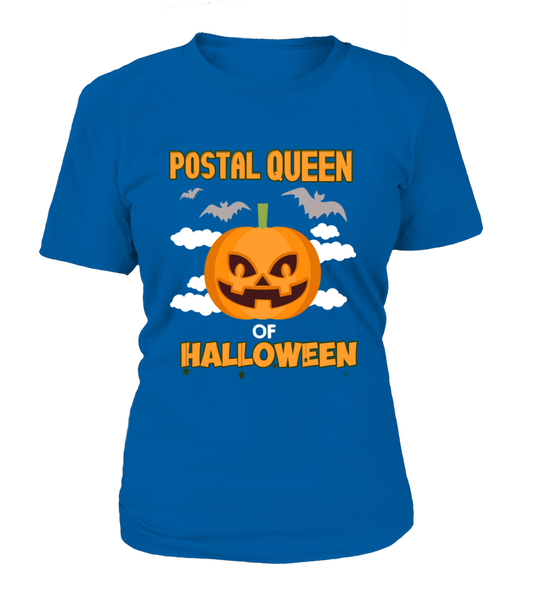 Postal Queen Of Halloween Shirt - Giggle Rich - 11