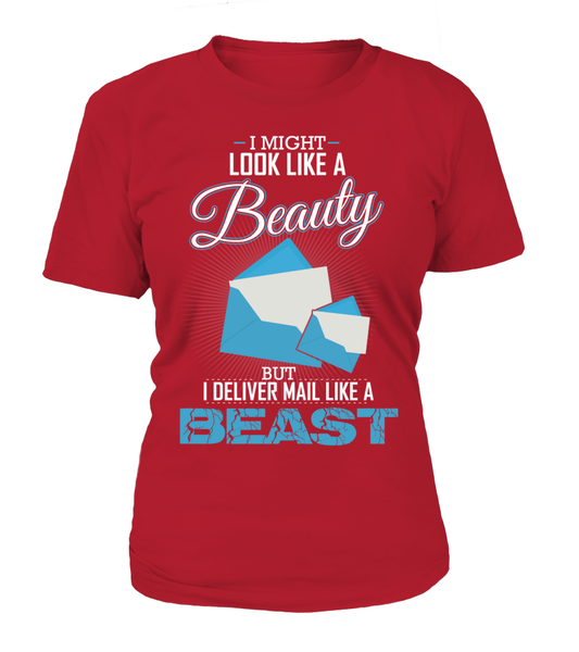 I Deliver Mail Like A Beast Shirt - Giggle Rich - 5