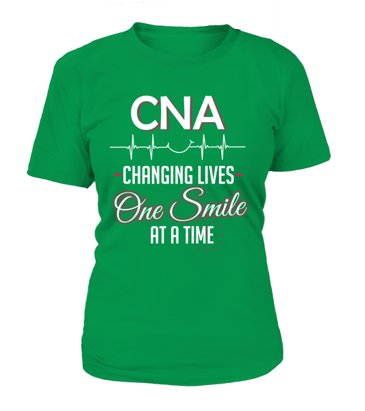 CNA Changing Lives - One Smile At A Time Shirt - Giggle Rich - 9