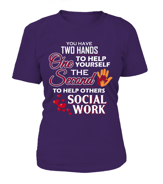 Social Worker Hands Shirt - Giggle Rich - 8
