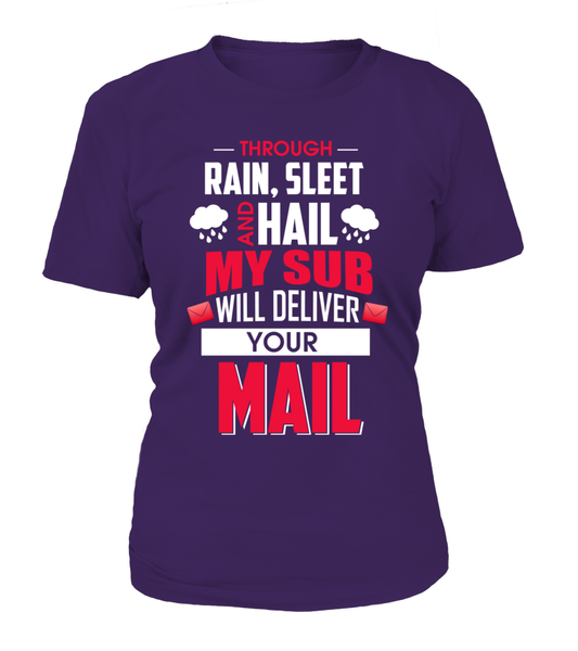 My Sub Will Deliver Your Mail Shirt - Giggle Rich - 11
