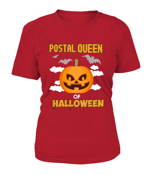 Postal Queen Of Halloween Shirt - Giggle Rich - 12
