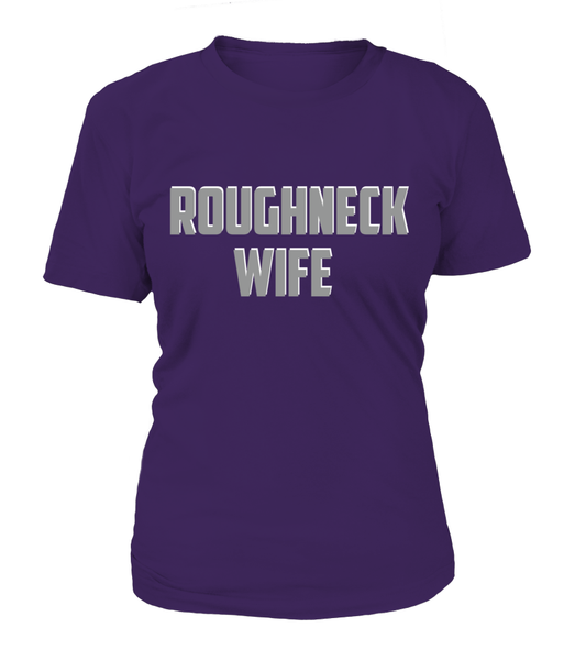 Roughneck Wife Waiting For Her Husband Shirt - Giggle Rich - 9