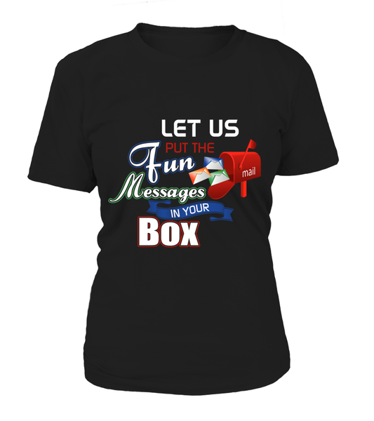 Postal Workers Put Messages In Your Box Shirt - Giggle Rich - 4