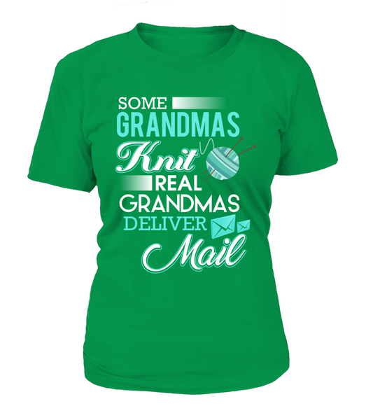 Real Grandmas Deliver Mail Shirt - Giggle Rich - 12