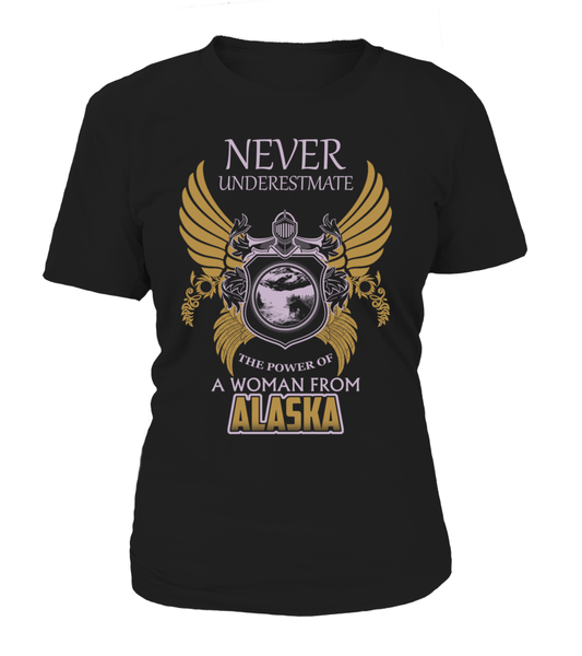 Never Underestimate The Power Of A Women From Alaska