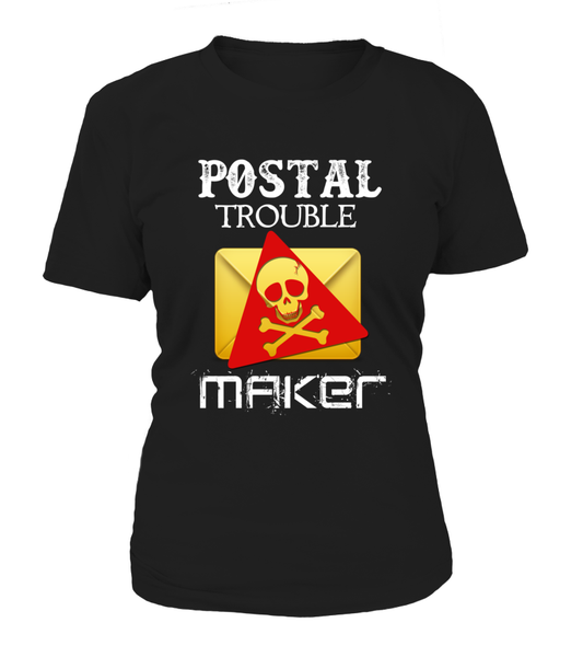 Postal Trouble Maker Shirt - Giggle Rich - 13
