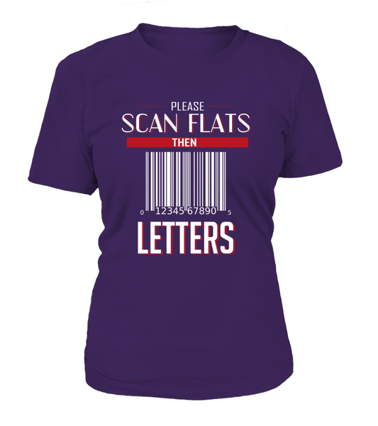 Scan Flats Then Letters Shirt - Giggle Rich - 8