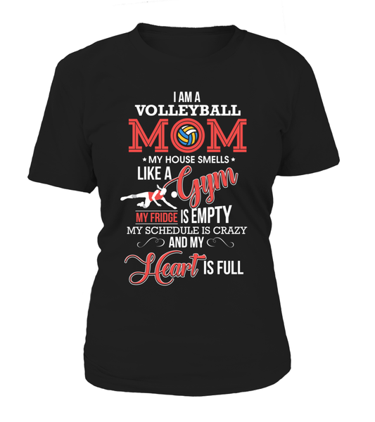 I Am A Volleyball Mom