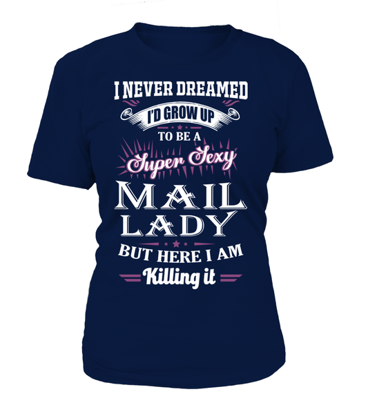 Super Sexy Mail Lady Shirt - Giggle Rich - 11