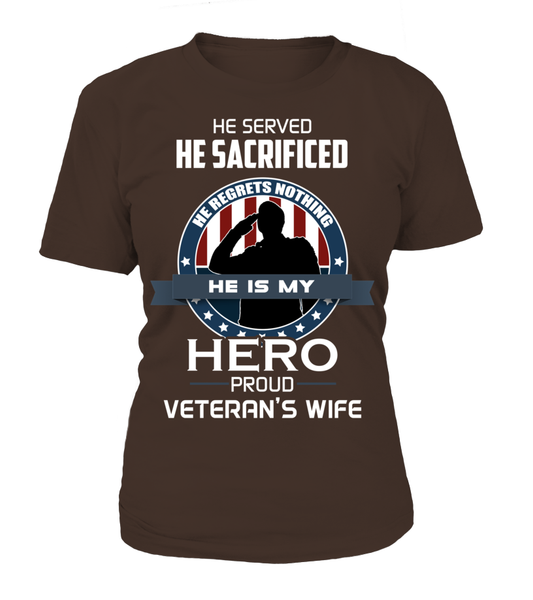 Proud Veterans Wife Shirt - Giggle Rich - 16