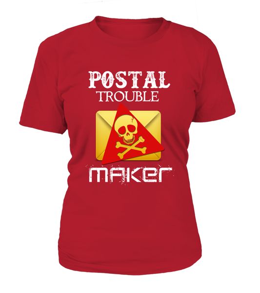 Postal Trouble Maker Shirt - Giggle Rich - 16