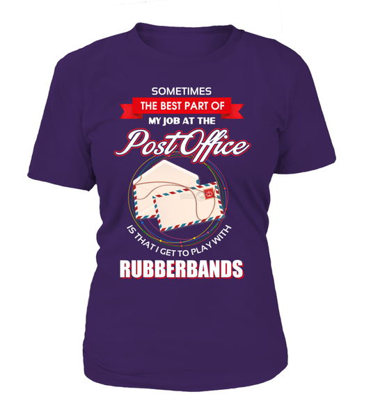 Post Office Rubberbands Shirt - Giggle Rich - 14