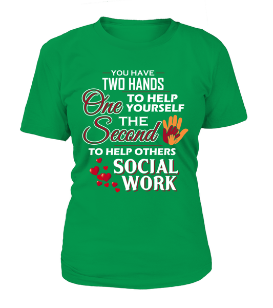 Social Worker Hands Shirt - Giggle Rich - 9