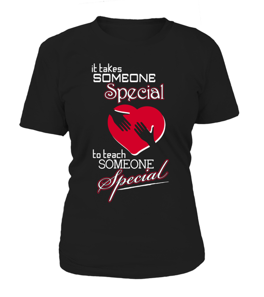 It Takes Someone Special To Teach Someone Special Shirt - Giggle Rich - 11
