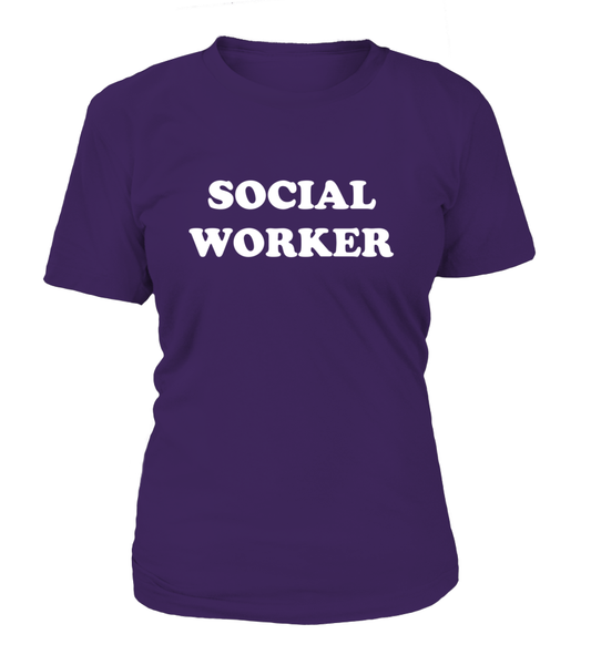 My Profession Taught Me To Love - Social Worker Shirt - Giggle Rich - 4