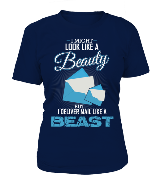 I Deliver Mail Like A Beast Shirt - Giggle Rich - 4