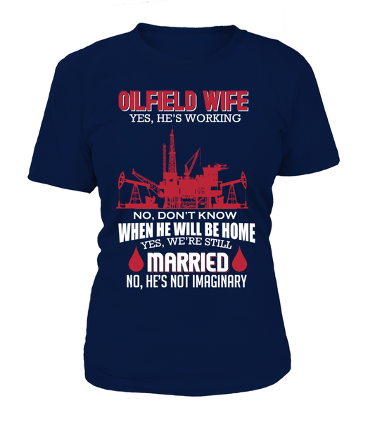 Married Oilfield Wife Shirt - Giggle Rich - 5