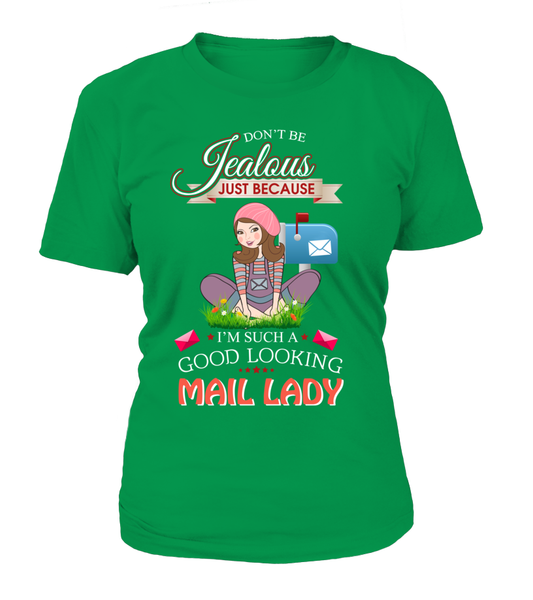 Good Looking Mail Lady Shirt - Giggle Rich - 9