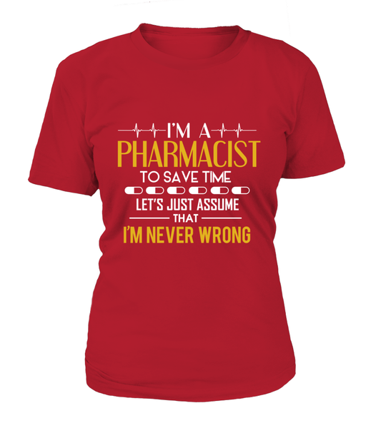 I'm Pharmacist Shirt - Giggle Rich - 16