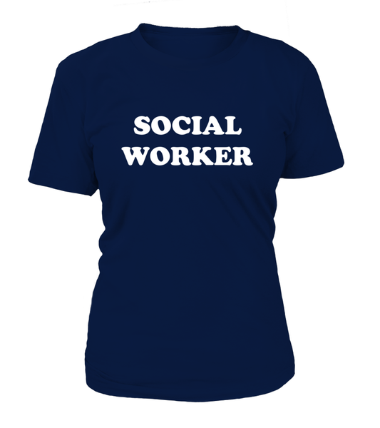 My Profession Taught Me To Love - Social Worker Shirt - Giggle Rich - 10