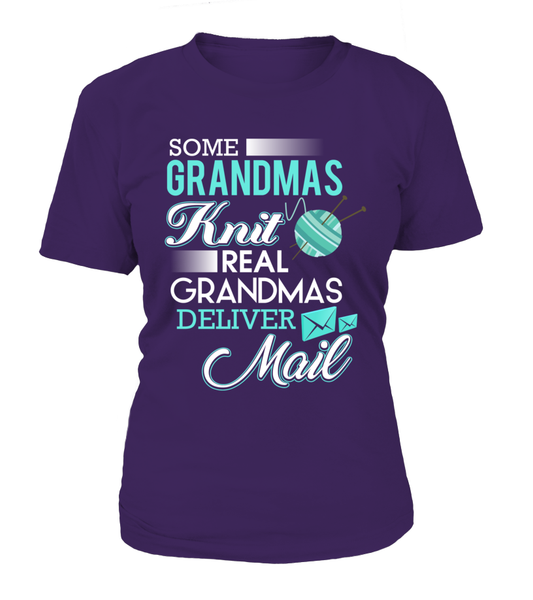 Real Grandmas Deliver Mail Shirt - Giggle Rich - 11
