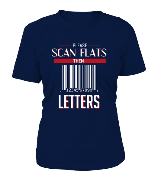 Scan Flats Then Letters Shirt - Giggle Rich - 7