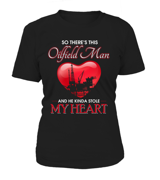 Oilfield Man Heart Shirt - Giggle Rich - 1