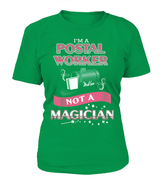 Postal Worker Not A Magician Shirt - Giggle Rich - 5