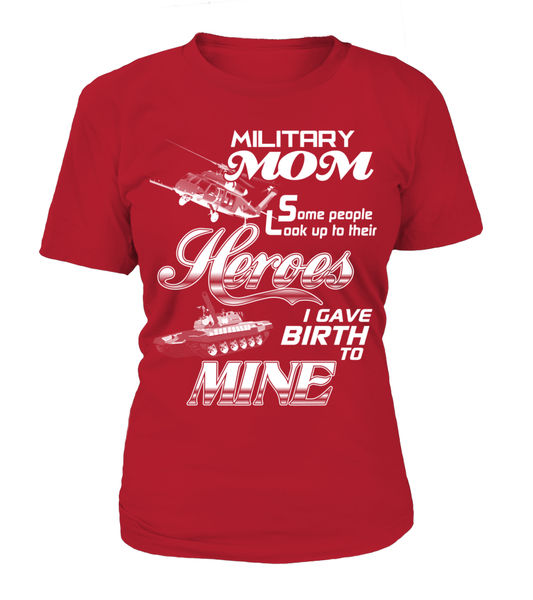 Military MOM Heroes Shirt - Giggle Rich - 9