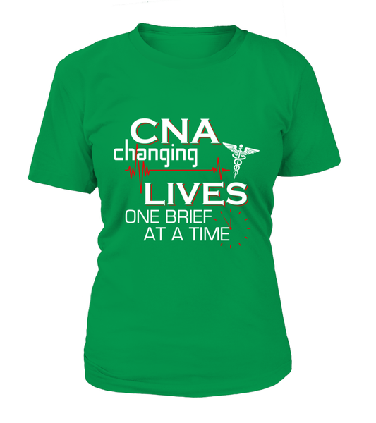 CNA Changing Lives Shirt - Giggle Rich - 9