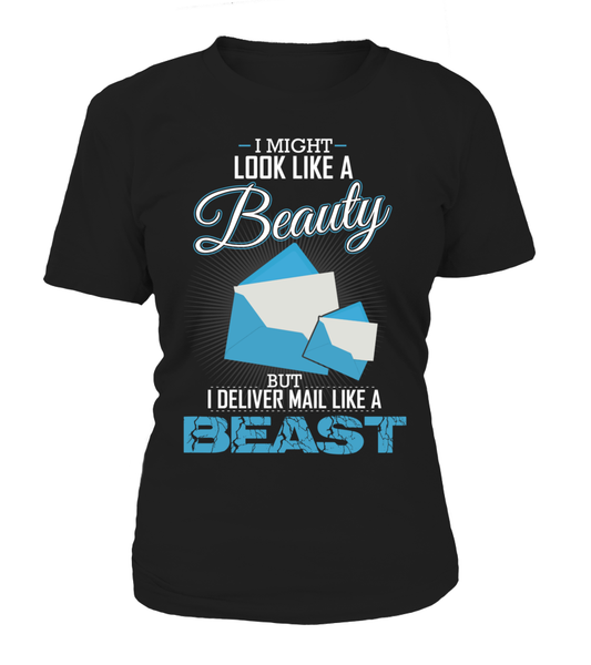 I Deliver Mail Like A Beast Shirt - Giggle Rich - 1