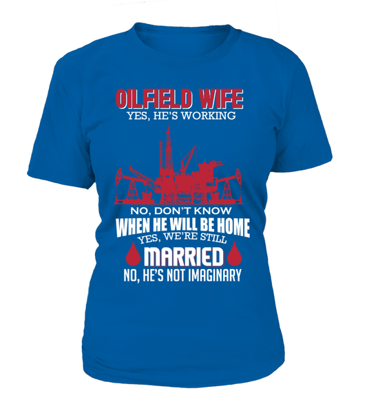 Married Oilfield Wife Shirt - Giggle Rich - 2