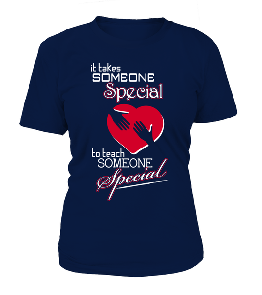 It Takes Someone Special To Teach Someone Special Shirt - Giggle Rich - 5
