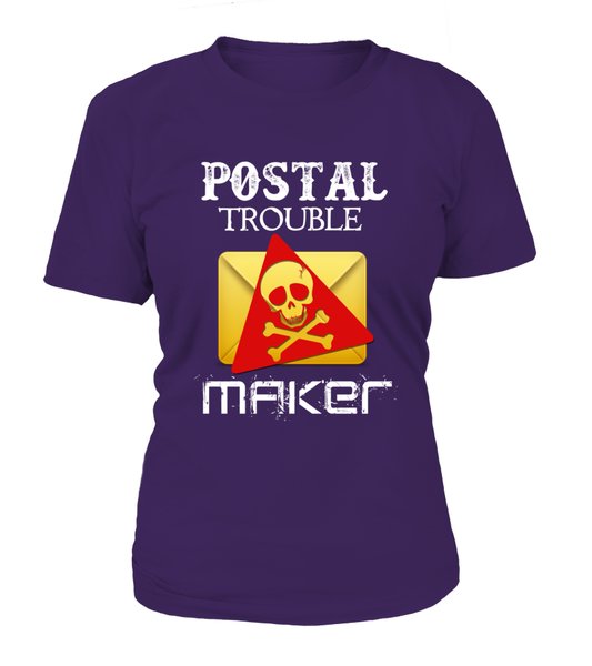 Postal Trouble Maker Shirt - Giggle Rich - 17