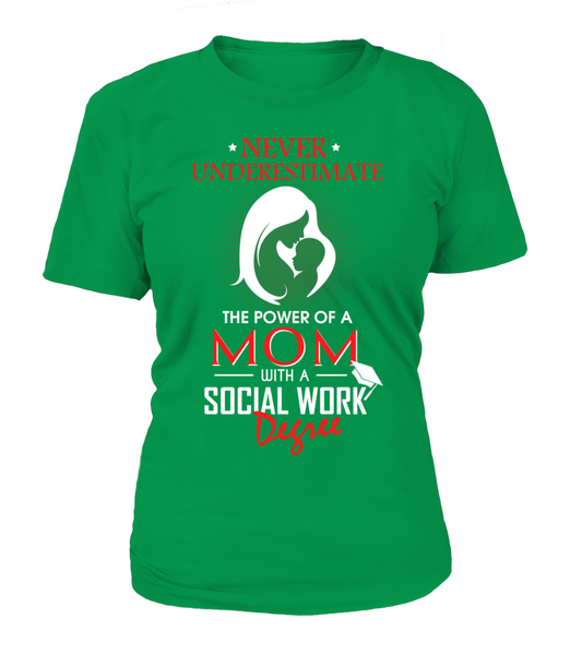 Mom With Social Work Degree Shirt - Giggle Rich - 12