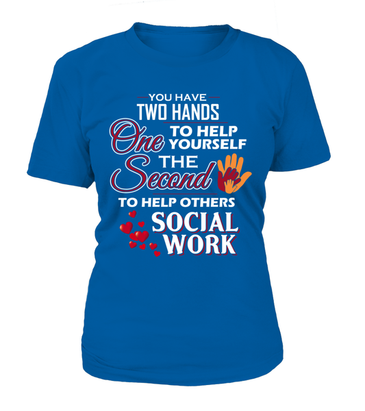 Social Worker Hands Shirt - Giggle Rich - 10