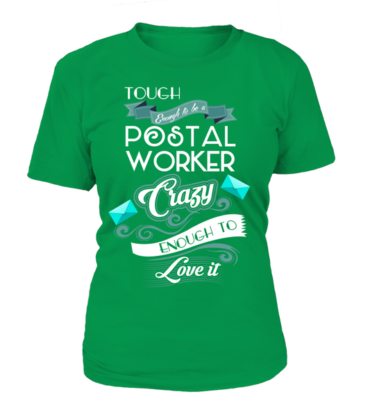 Tough Enough To Be A Postal Worker Shirt - Giggle Rich - 11