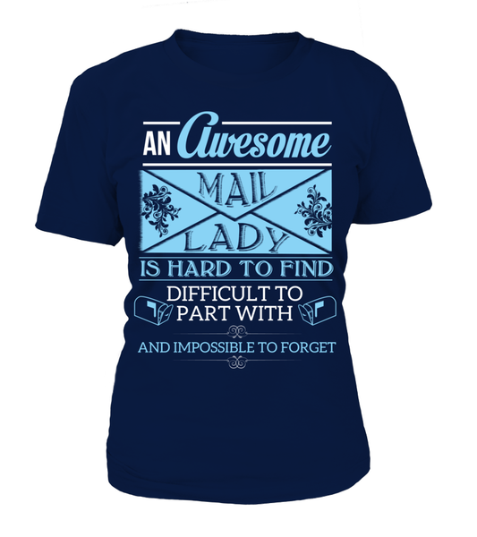 An Awesome Mail Lady Shirt - Giggle Rich - 13