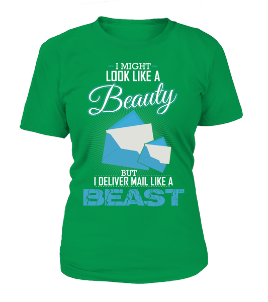 I Deliver Mail Like A Beast Shirt - Giggle Rich - 3