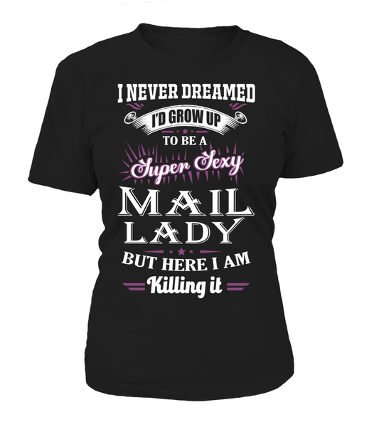 Super Sexy Mail Lady Shirt - Giggle Rich - 12