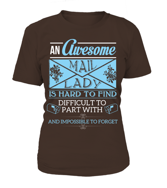 An Awesome Mail Lady Shirt - Giggle Rich - 12