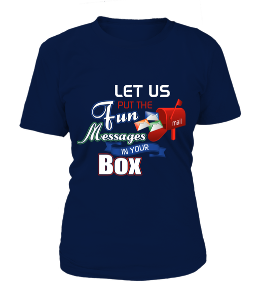 Postal Workers Put Messages In Your Box Shirt - Giggle Rich - 1