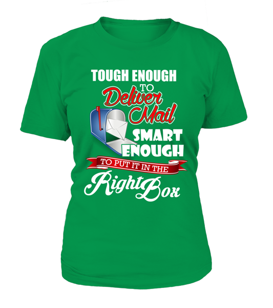 Tough Enough To Deliver Mail Shirt - Giggle Rich - 13