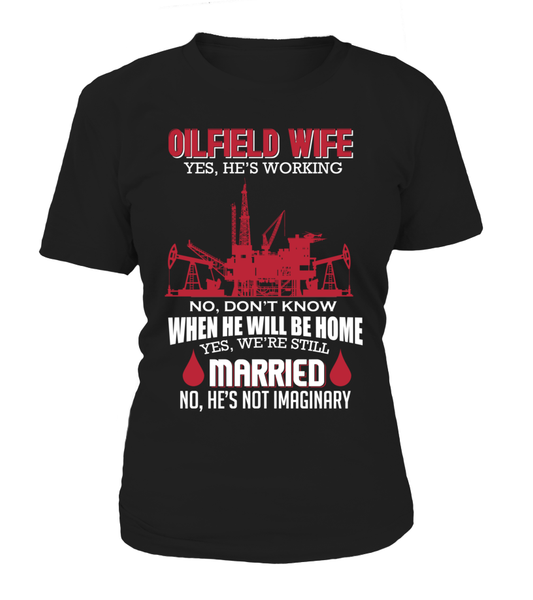 Married Oilfield Wife Shirt - Giggle Rich - 1