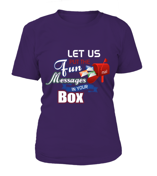 Postal Workers Put Messages In Your Box Shirt - Giggle Rich - 6