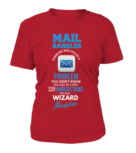 Mail Handler Solves Problems Shirt - Giggle Rich - 10