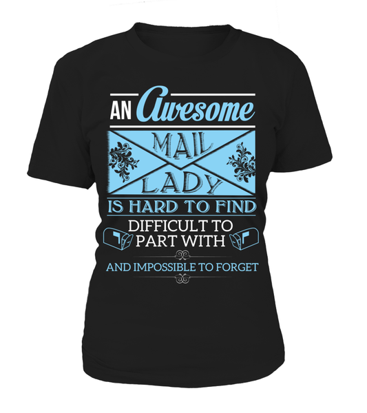 An Awesome Mail Lady Shirt - Giggle Rich - 9