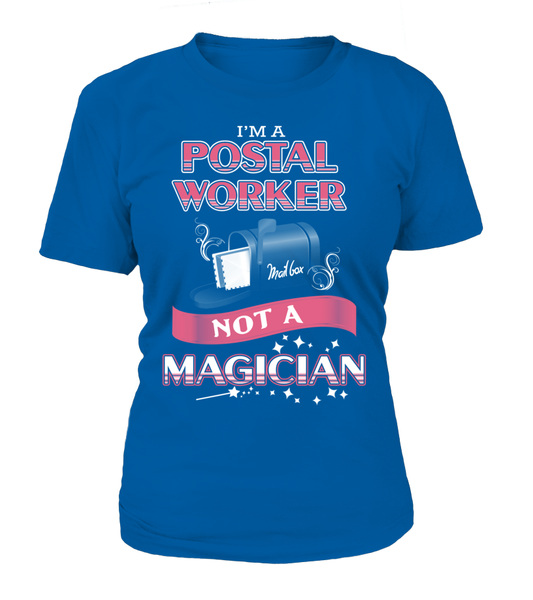 Postal Worker Not A Magician Shirt - Giggle Rich - 3