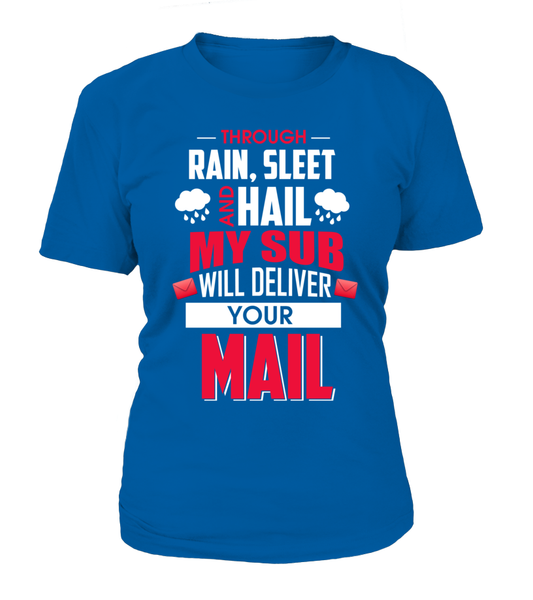 My Sub Will Deliver Your Mail Shirt - Giggle Rich - 10